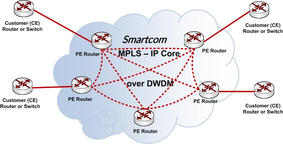 MPLS IP VPN